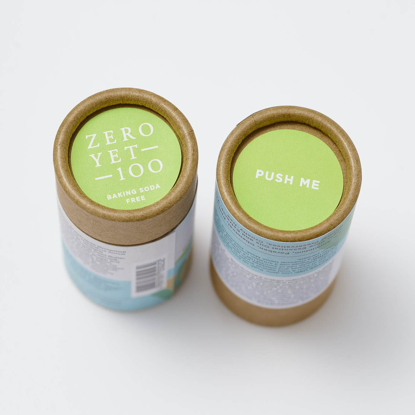 Eco-Friendly Deodorant Stick Push Up | Top & Bottom