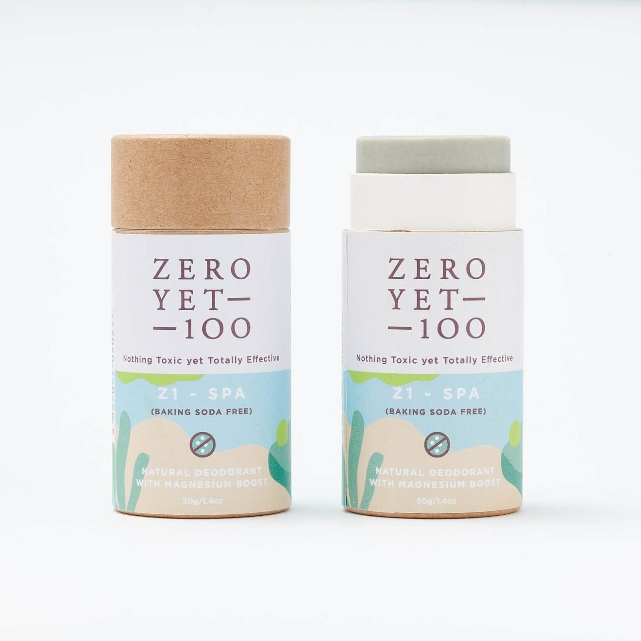 Z1 Spa Deodorant Push Up Stick | Baking Soda Free | ZeroYet100