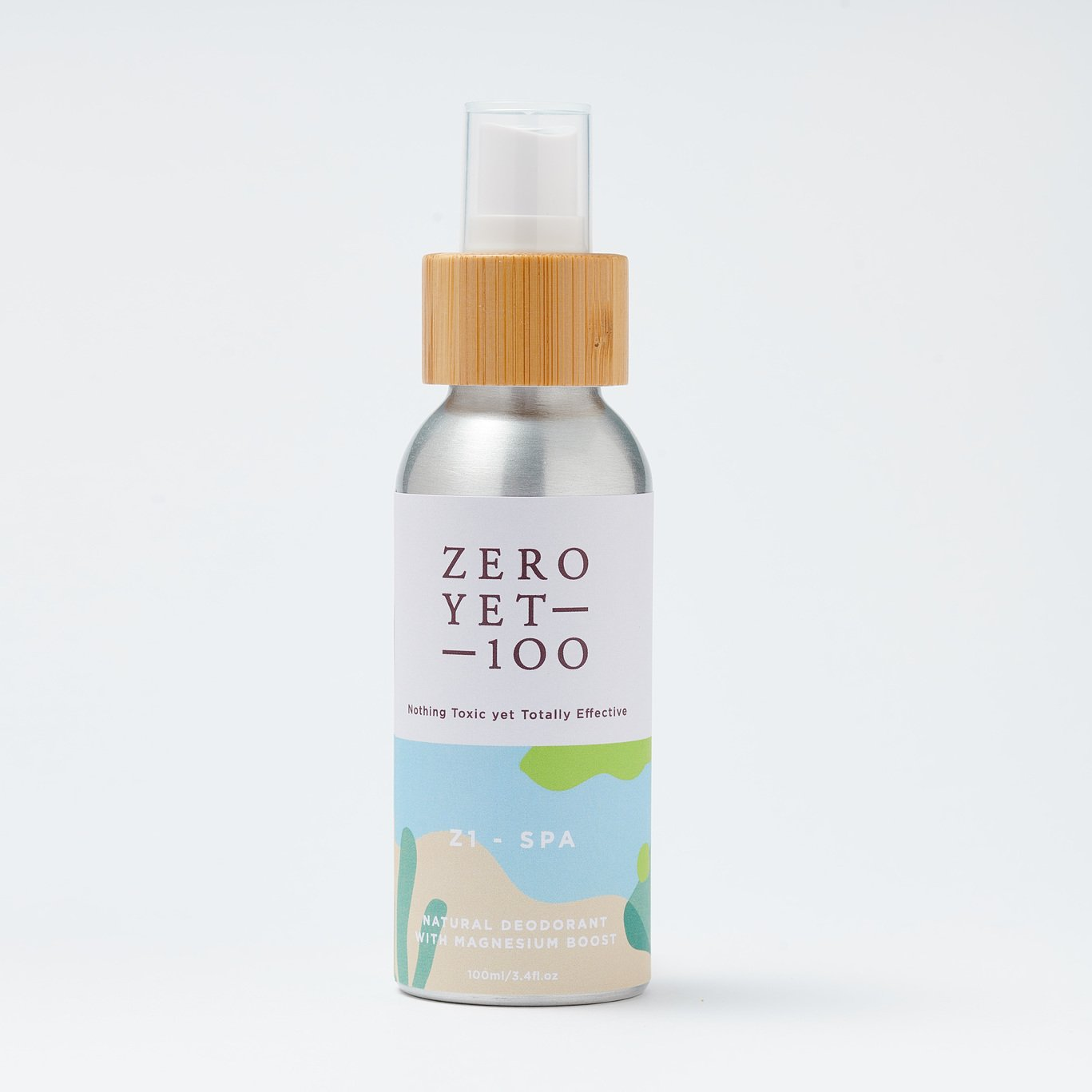 Z1 Spa Deodorant Spray | Vegan & Cruelty Free | ZeroYet100